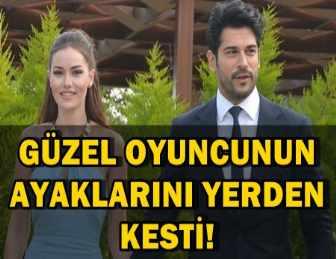 BURAK ÖZÇİVİT'TEN, FAHRİYE EVCEN'E BÜYÜK JEST!..