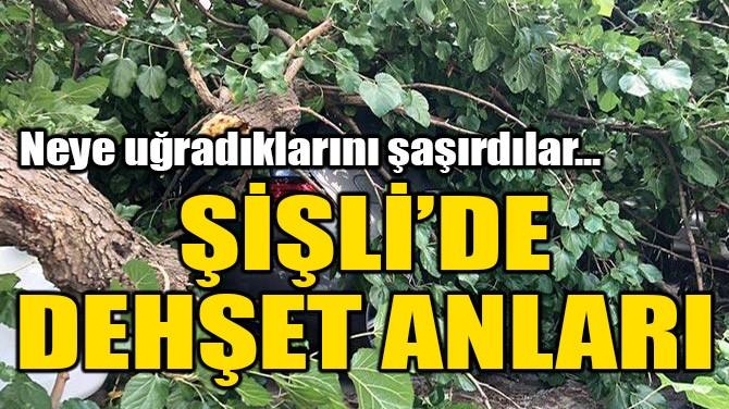 ŞİŞLİ'DE DEHŞET ANLARI!