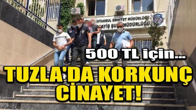 TUZLA'DA KORKUNÇ CİNAYET!