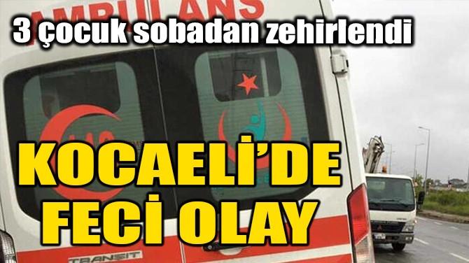 KOCAELİ'DE FECİ OLAY!