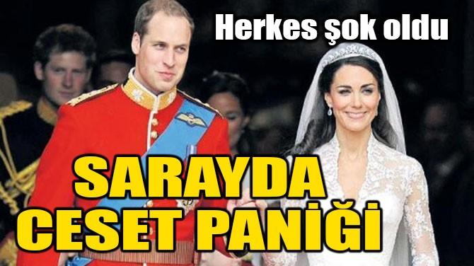 SARAYDA CESET PANİĞİ