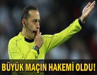 SON DAKİKA!.. UEFA'DAN, TÜRK HAKEM CÜNEYT ÇAKIR'A DEV GÖREV!..