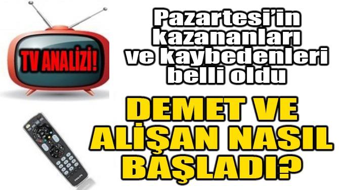 DÜNÜN RATINGLERİ BELLİ OLDU!