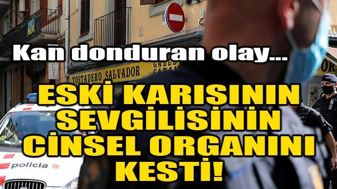ESKİ KARISININ SEVGİLİSİNİN CİNSEL ORGANINI KESTİ!