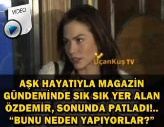 """DEMET ÖZDEMİR RESMEN İSYAN ETTİ! """"SEVGİLİM YOK!.."""""""