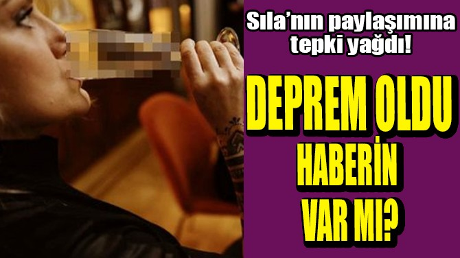 SILA'NIN PAYLAŞIMINA TEPKİ YAĞDI!