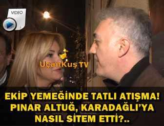 """TAMER KARADAĞLI: """"YEMEK VAR DEDİLER GELDİK!.."""""""
