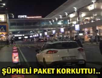 ATATÜRK HAVALİMANI'NDA BOMBA ALARMI!..