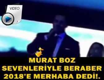 YAKIŞIKLI POPÇU MURAT BOZ'UN YILBAŞI SAHNESİ BÜYÜLEDİ!..