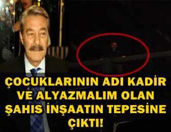 KADİR İNANIR'I GÖRMEK İSTEYİNCE, İNTİHARA KALKIŞTI!..