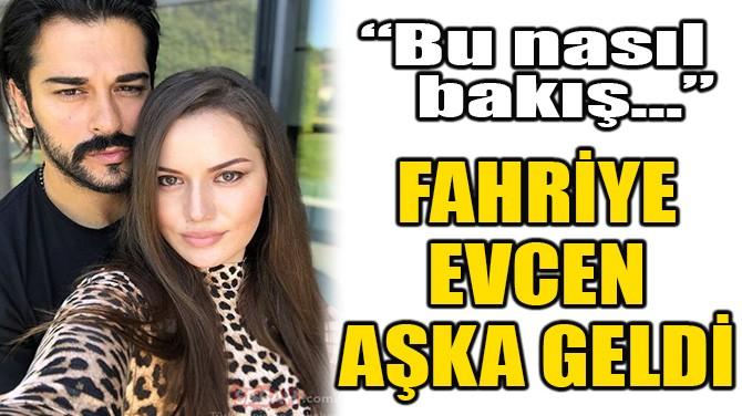 FAHRİYE EVCEN AŞKA GELDİ!