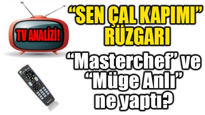 """SEN ÇAL KAPIMI""  RÜZGARI"