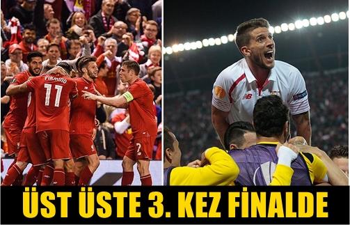 UEFA AVRUPA LİGİ'NDE FİNALİN ADI BELLİ OLDU! LIVERPOOL İLE SEVILLA KARŞI KARŞIYA GELECEK!..