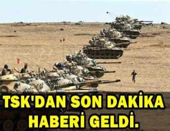 TSK: AFRİN'DE 4 KÖY DAHA TERÖRİSTLERDEN TEMİZLENDİ!