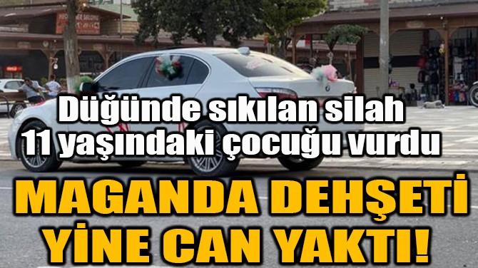 MAGANDA DEHŞETİ YİNE CAN YAKTI!