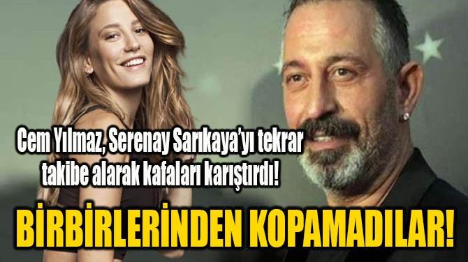CEM YILMAZ, SERENAY SARIKAYA'YI TEKRAR TAKİBE ALDI!