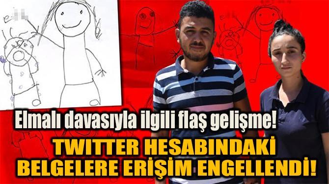 ELMALI DAVASIYLA İLGİLİ FLAŞ GELİŞME!