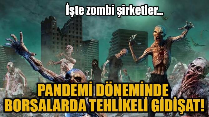 PANDEMİ DÖNEMİNDE BORSALARDA TEHLİKELİ GİDİŞAT!
