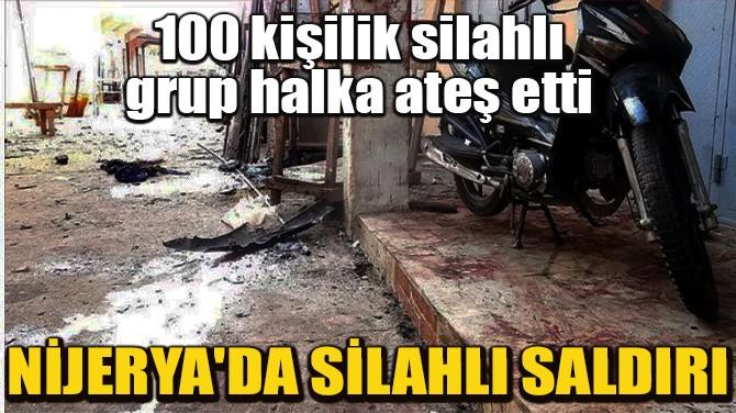 NİJERYA'DA SİLAHLI SALDIRI!