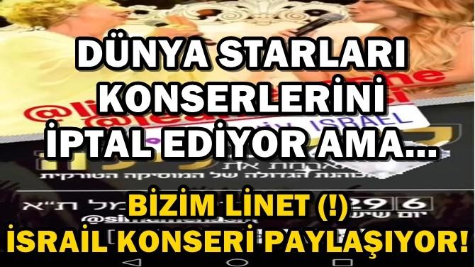 DÜNYA STARLARI KONSERLERİNİ İPTAL EDİYOR AMA...