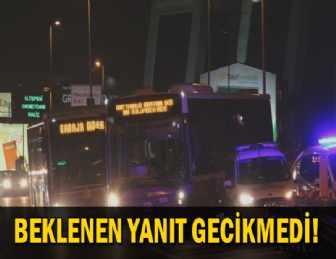 'HALK OTOBÜSÜNDE DEHŞET' HABERİNE CEVAP GELDİ…