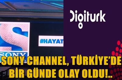 SONY'Yİ DIGITURK'TE BULAMAYANLAR, TELEFONLARI KİLİTLEDİ!