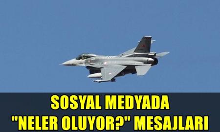 İSTANBUL ÜZERİNDE UÇAN F-16'LARA İLİŞKİN VALİLİK'TEN AÇIKLAMA GELDİ!..