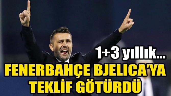 FENERBAHÇE YENİ BJELICA'YA TEKLİF GÖTÜRDÜ!