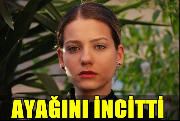 """STAR TV'NİN SEVİLEN DİZİSİ """"BENDE ÖZLEDİM""""İN GÜZEL OYUNCUSU SERA TOKDEMİR AYAĞINI İNCİTTİ!"""
