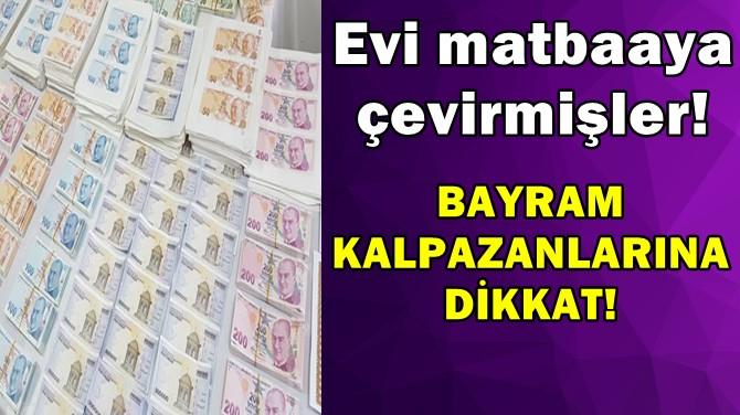 BAYRAM KALPAZANLARINA DİKKAT!