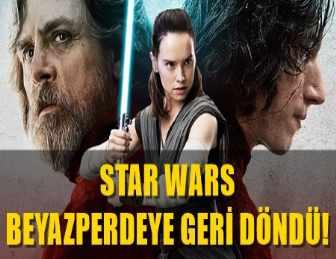 """STAR WARS """"SON JEDİ"""" FİLMİ'NİN ÖZEL ETKİNLİKLERİ GERÇEKLEŞTİ!"""