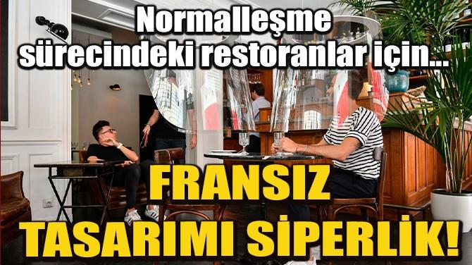FRANSIZ TASARIMI ASMA SİPERLİK!