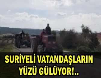 AFRİN'DE SURİYELİLER KÖYLERİNE DÖNMEYE BAŞLADI!..