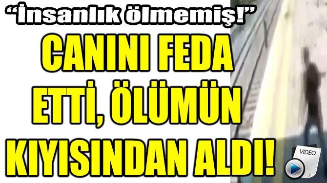 CANINI FEDA ETTİ, ÖLÜMÜN KIYISINDAN ALDI!