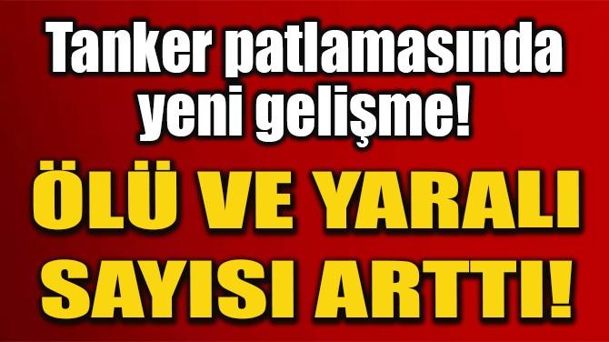 ÇİN'DEKİ TANKER KAZASINDA ÖLÜ SAYISI 10'A, YÜKSELDİ!