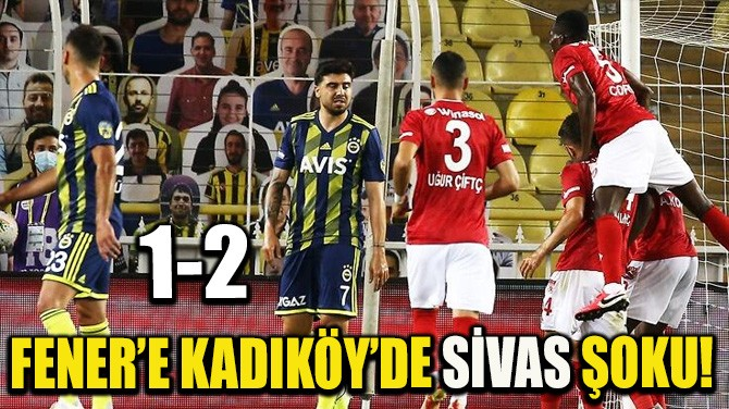 FENER'E KADIKÖY'DE SİVAS ŞOKU!