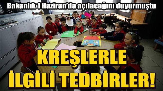1 HAZİRAN'DA AÇILACAK KREŞLERLE İLGİLİ TEDBİRLER BELLİ OLDU!