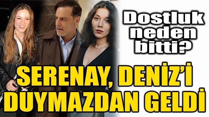SERENAY SARIKAYA, DENİZ BULUTSUZ'U DUYMAZDAN GELDİ!
