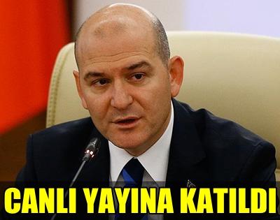 BAKAN SOYLU HALKLA BİRLİKTE TRT'YE GİRDİ!.. TRT HABER SPİKERİ İSE O ANLARI ANLATTI!..