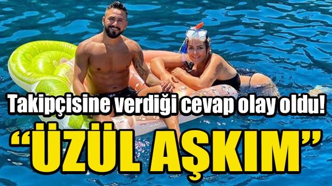 SELİN CİĞERCİ'DEN TAKİPÇİSİNE SERT CEVAP!