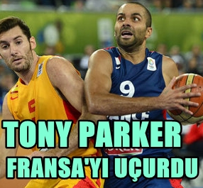 TONY PARKER TARİH YAZDI! FRANSA 2013 AVRUPA BASKETBOL ŞAMPİYONASI'NDA FİNALE ÇIKTI!