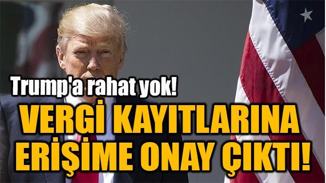 VERGİ KAYITLARINA  ERİŞİME ONAY ÇIKTI!