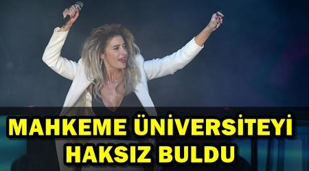 SILA KONSERİNİ İPTAL EDEN REKTÖRLÜĞE HACİZ!..