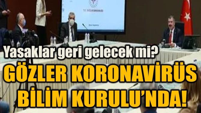 GÖZLER KORONAVİRÜS  BİLİM KURULU'NDA!