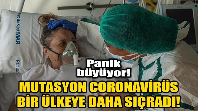 MUTASYON CORONAVİRÜS BİR ÜLKEYE DAHA SIÇRADI!