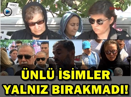 VATAN ŞAŞMAZ'IN EŞİ VE ANNESİ GÖZYAŞLARINI TUTAMADI!