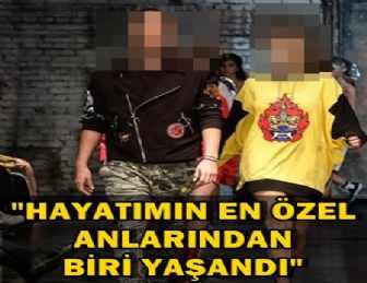 ÜNLÜ ÇİFT PODYUMUN TOZUNU ATTIRDI!..