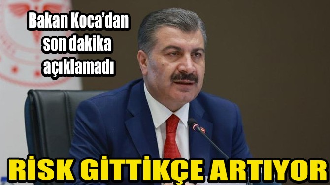 SAĞLIK BAKANI FAHRETTİN KOCA'DAN AÇIKLAMA!