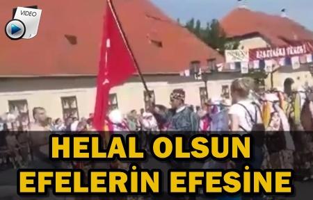 HIRVATİSTAN'DA TÜRK BAYRAĞINA ÇİRKİN SALDIRI!..