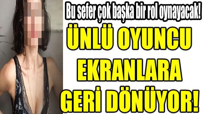 NESRİN CAVADZADE EKRANLARA GERİ DÖNÜYOR!